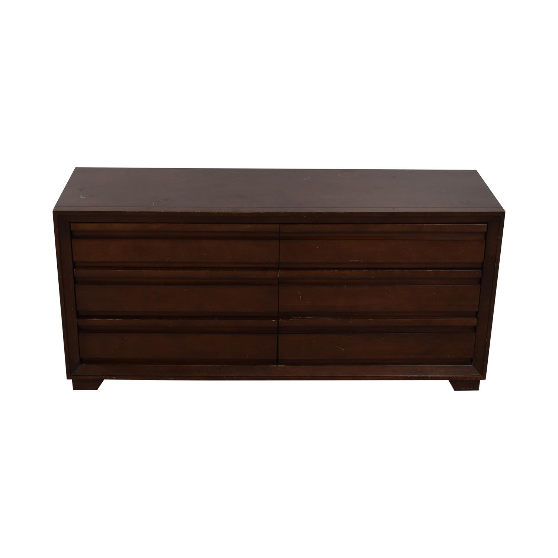 shop Crate & Barrel Six-Drawer Dresser Crate & Barrel