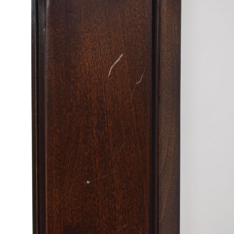 Crate & Barrel Crate & Barrel Wood Framed Wall Mirror Decor