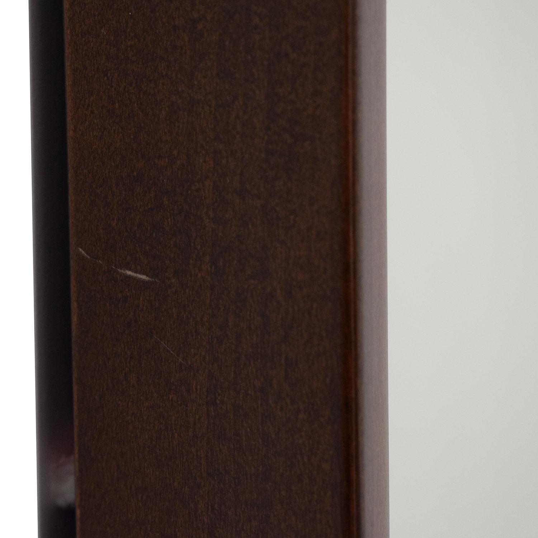 buy Crate & Barrel Wood Framed Wall Mirror Crate & Barrel Mirrors
