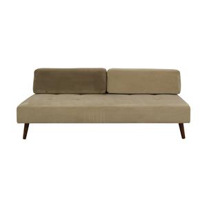 West Elm Beige Tillary Sofa sale