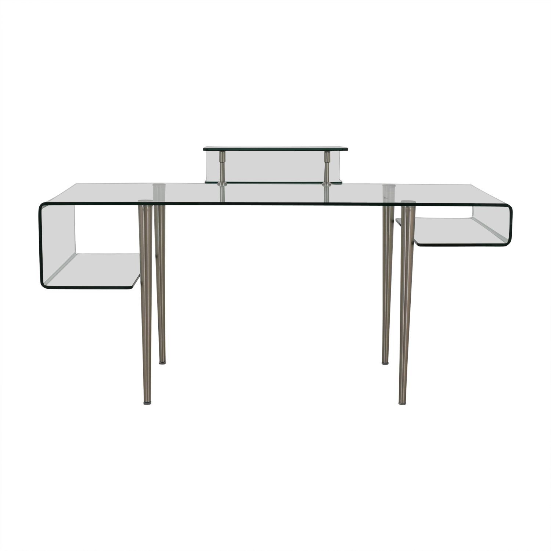 Sensational 70 Off Modern Glass Desk Tables Download Free Architecture Designs Photstoregrimeyleaguecom