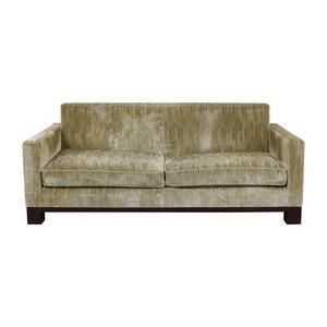 Holly Hunt Holly Hunt Custom Velvet Sofa