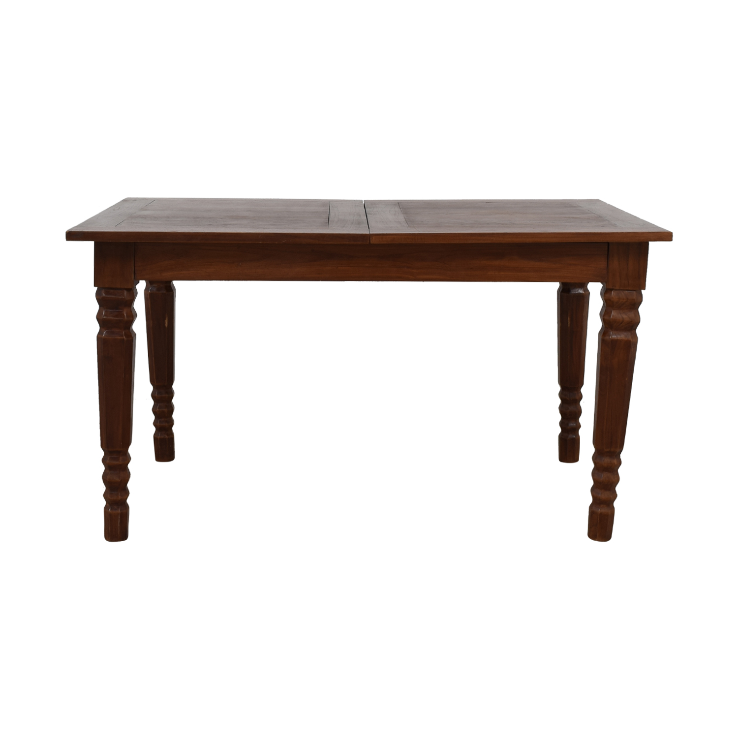 Custom Rustic Extendable Dining Table on sale