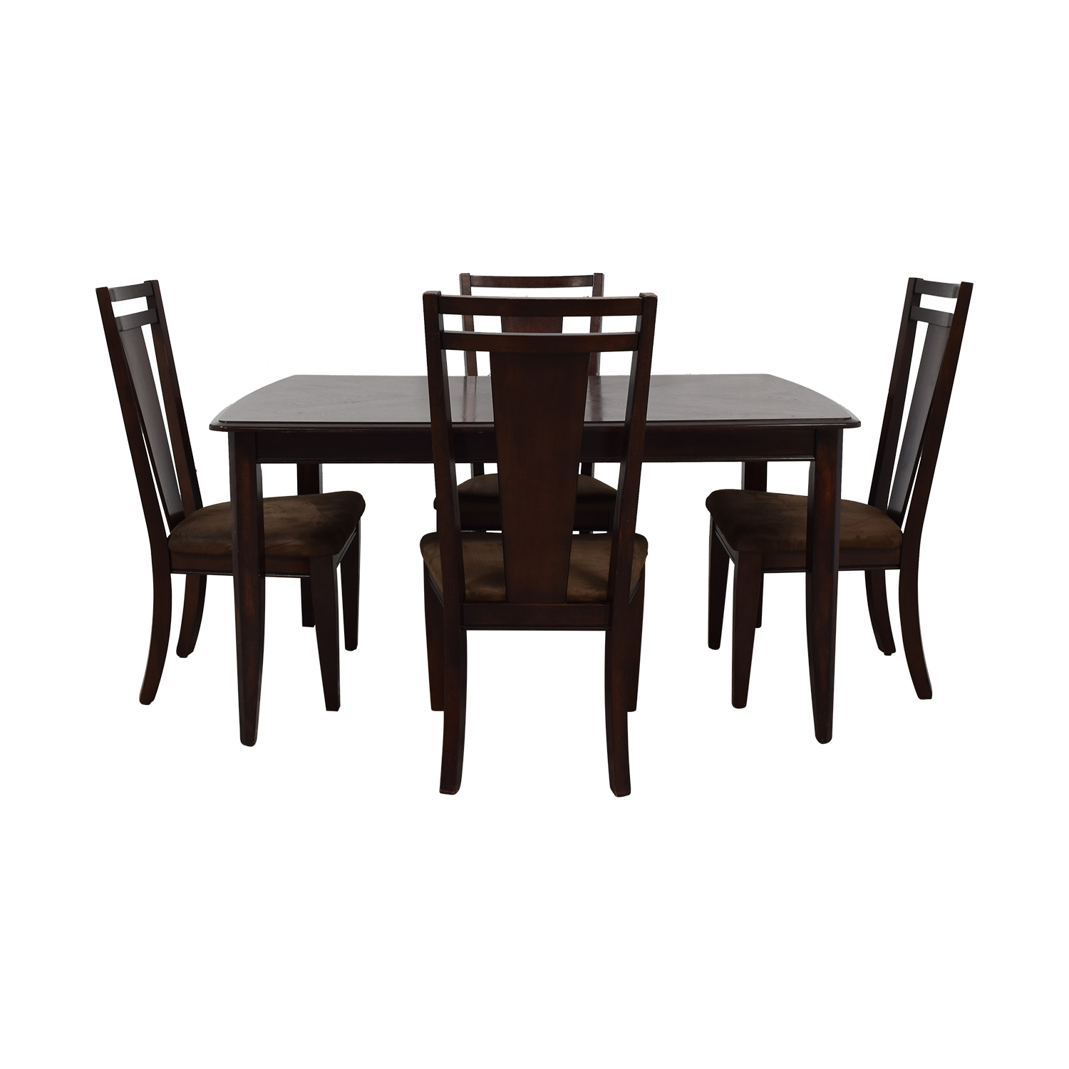Raymour & Flanigan Raymour & Flanigan Extendable Dining Set nj
