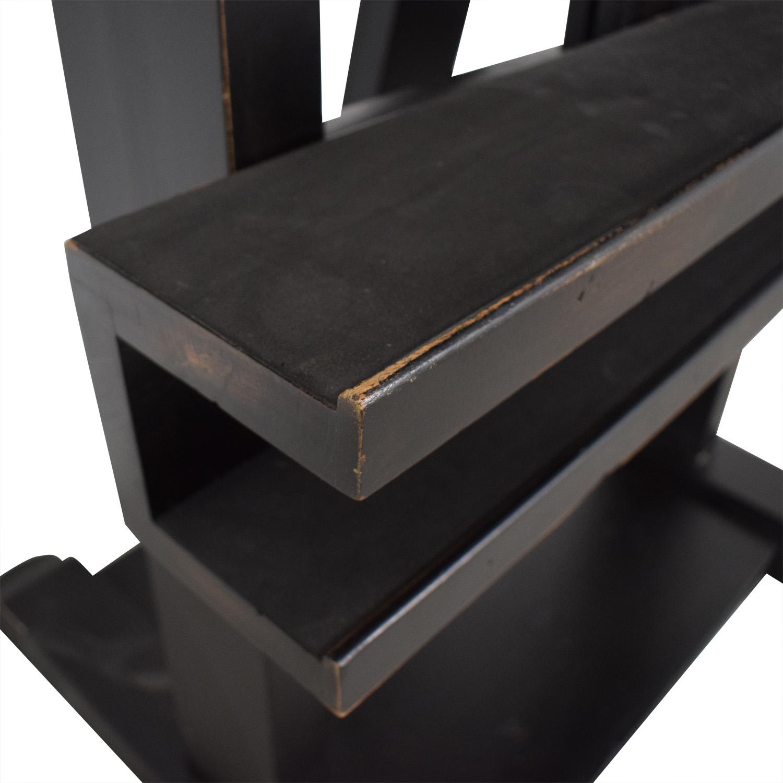 buy Restoration Hardware Wood TV Easel Restoration Hardware Media Units