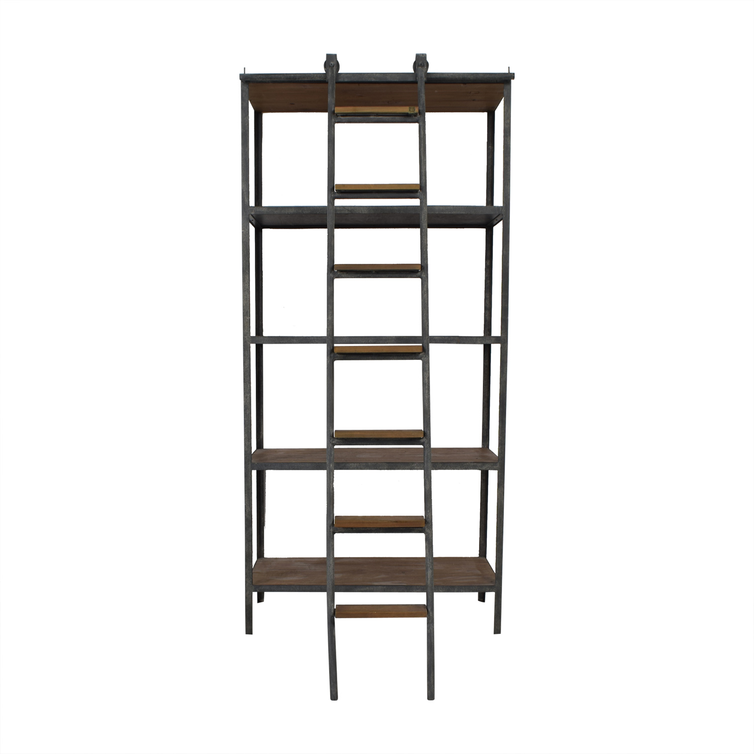 ABC Carpet & Home Book Shelf with Ladder / Bookcases & Shelving