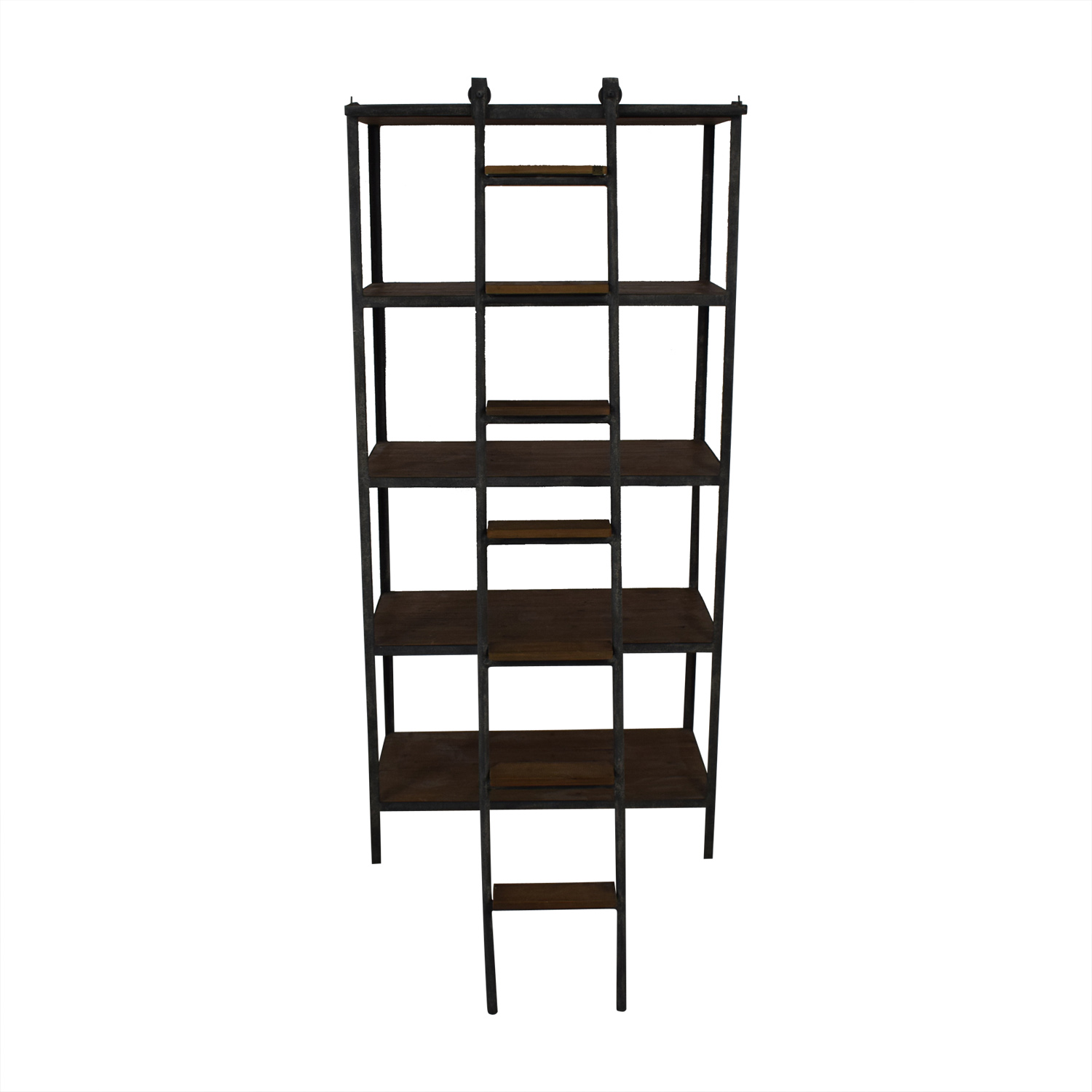 ABC Carpet & Home ABC Carpet & Home Book Shelf with Ladder for sale
