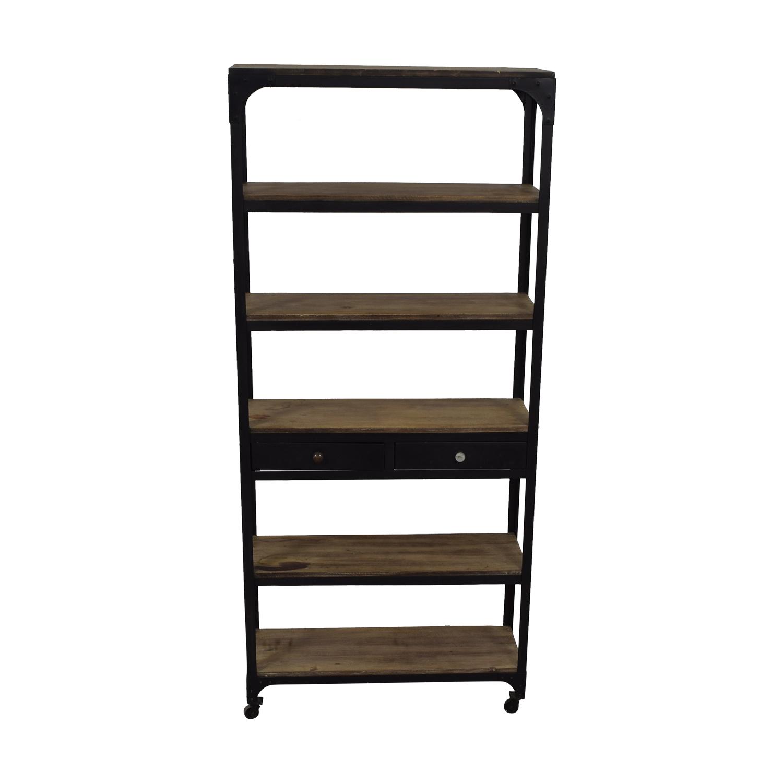 Restoration Hardware Bookshelf / Storage