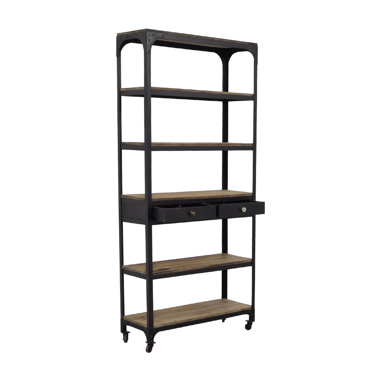 buy Restoration Hardware Bookshelf Restoration Hardware Bookcases & Shelving