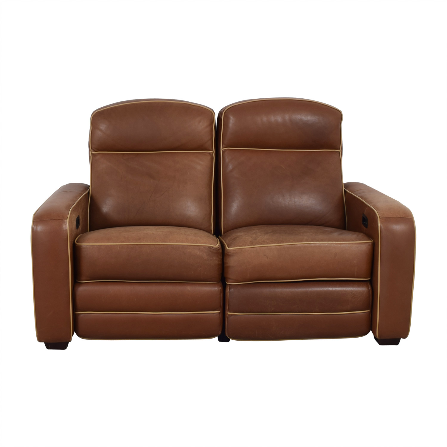 Leggett & Platt Leggett & Platt Custom Brown Loveseat Recliner on sale