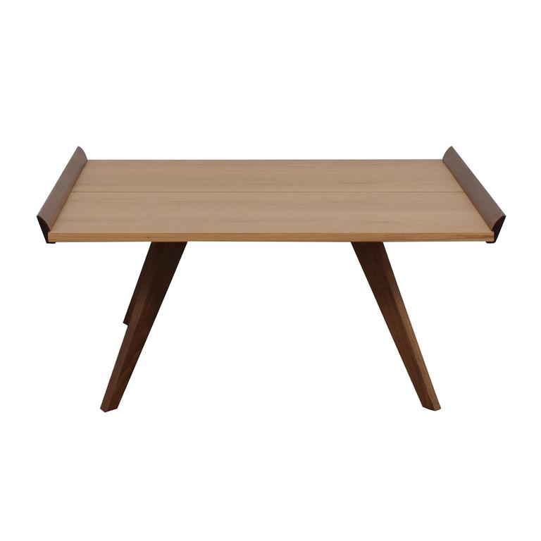 Knoll Knoll Nakashima Splay-Leg Coffee Table on sale