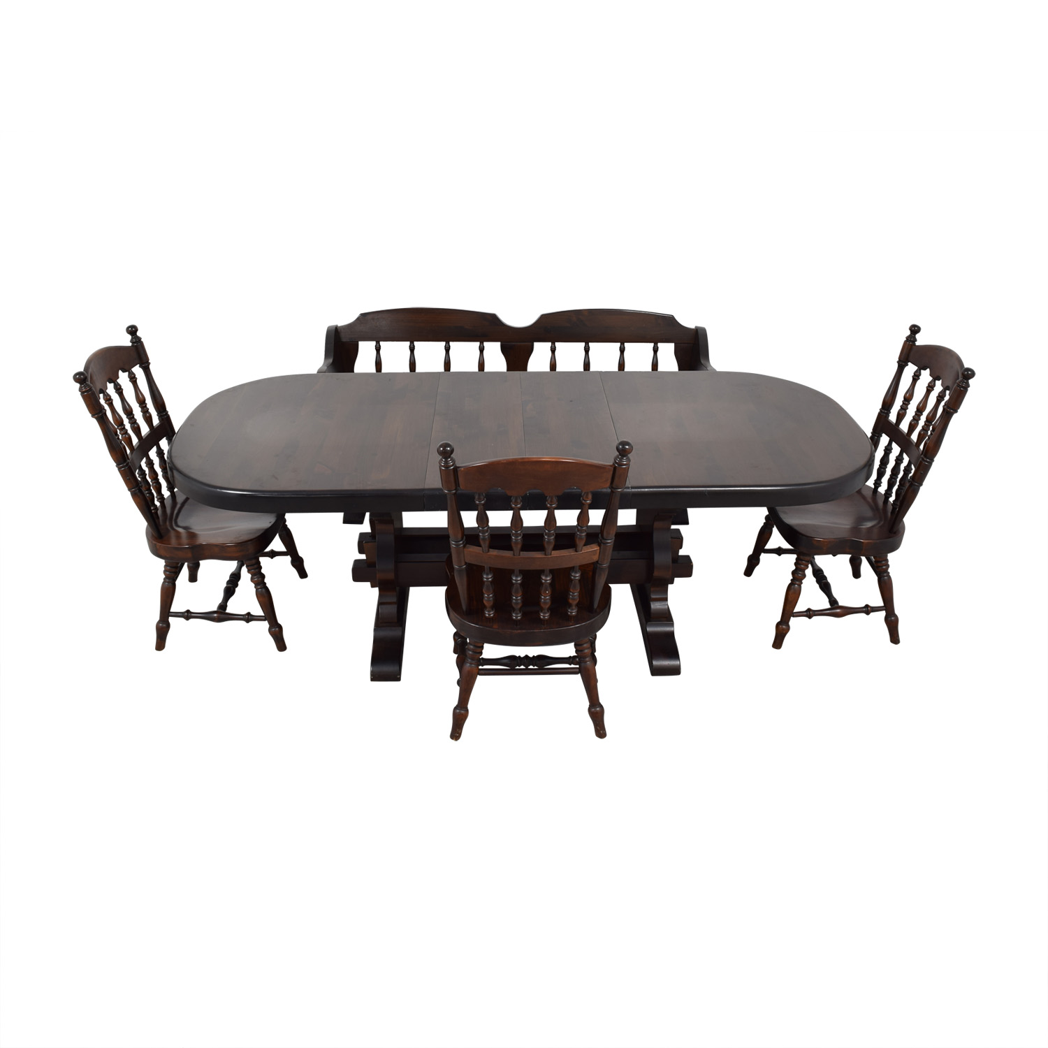 shop Bennington Pine Extendable Dining Set Bennington Pine Dining Sets