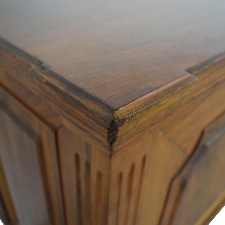 shop Four-Drawer Wood Buffet or Sideboard  Storage