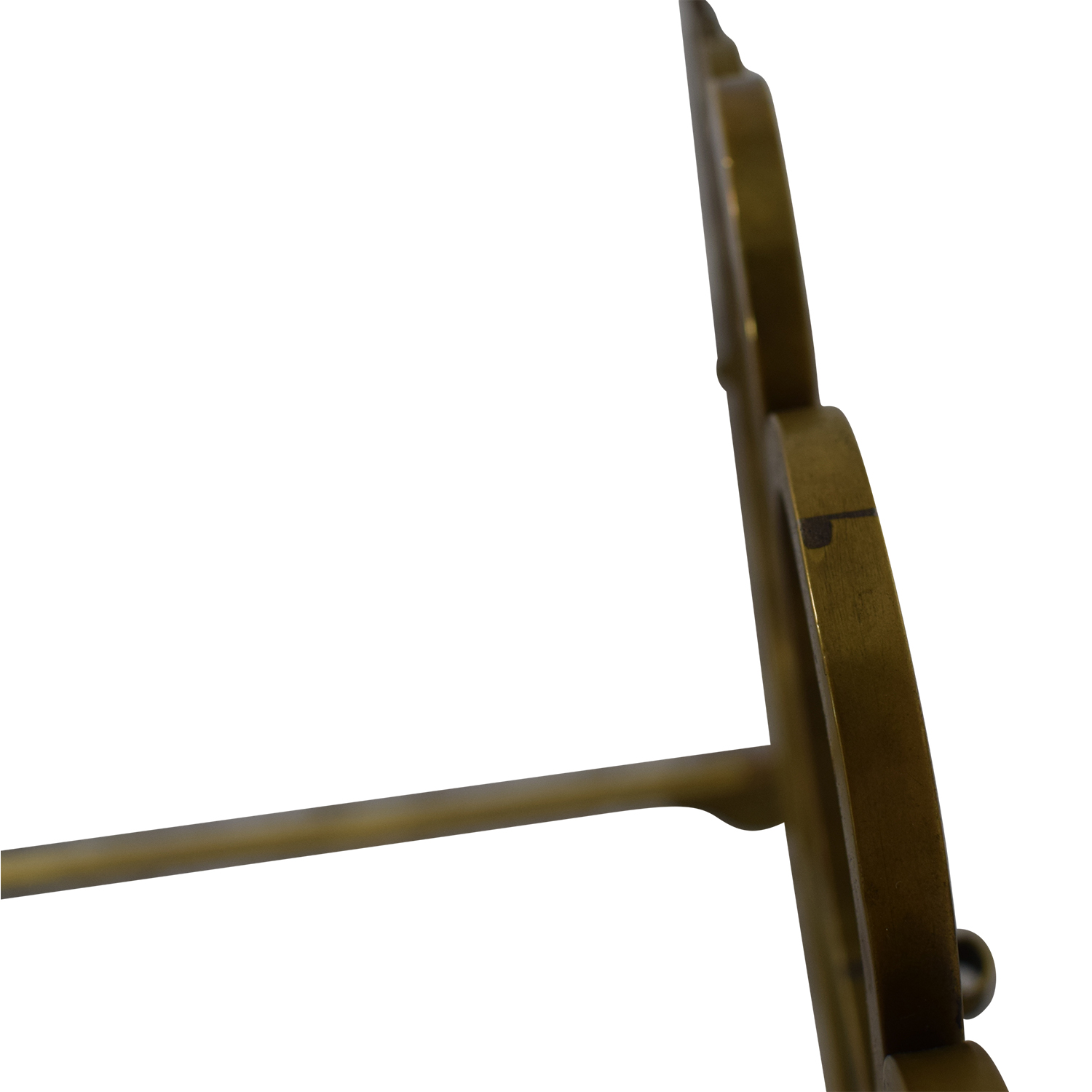 Scrolled Brass Twin Bed Frame Bed Frames