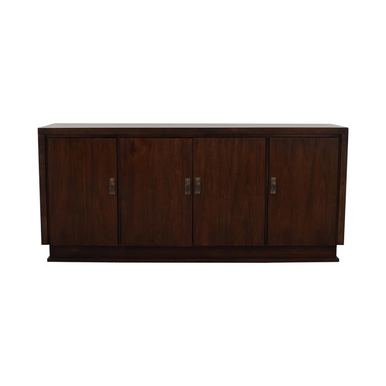 Bernhardt Wood Single Drawer Sideboard Bernhardt