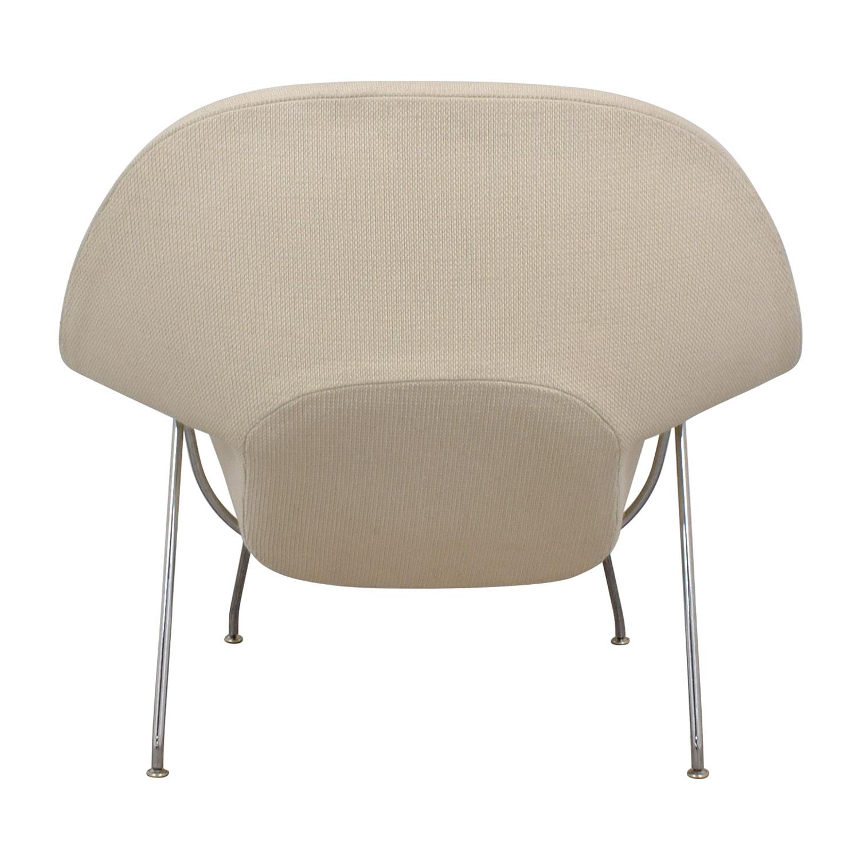 Knoll Knoll Eero Saarinen Womb Chair and Womb Ottoman coupon