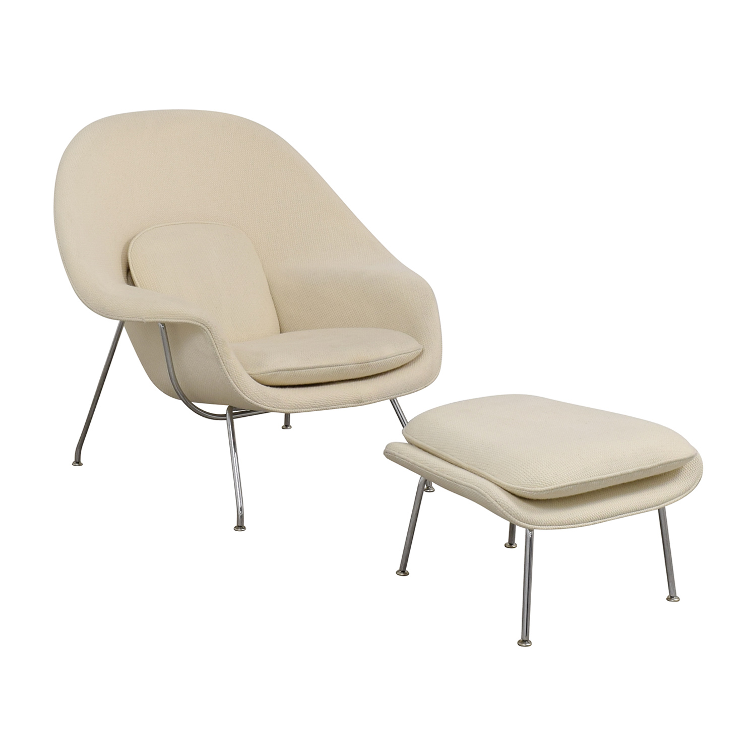 65 Off Knoll Knoll Eero Saarinen Womb Chair And Womb