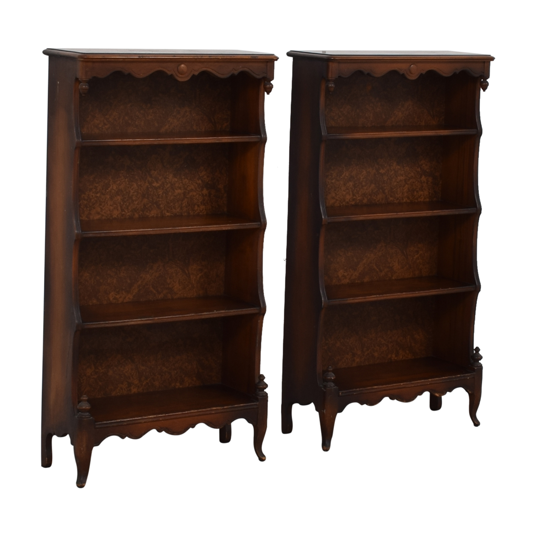 Dovetailed Roman Bookshelves nj