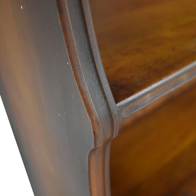 Dovetailed Roman Bookshelves brown