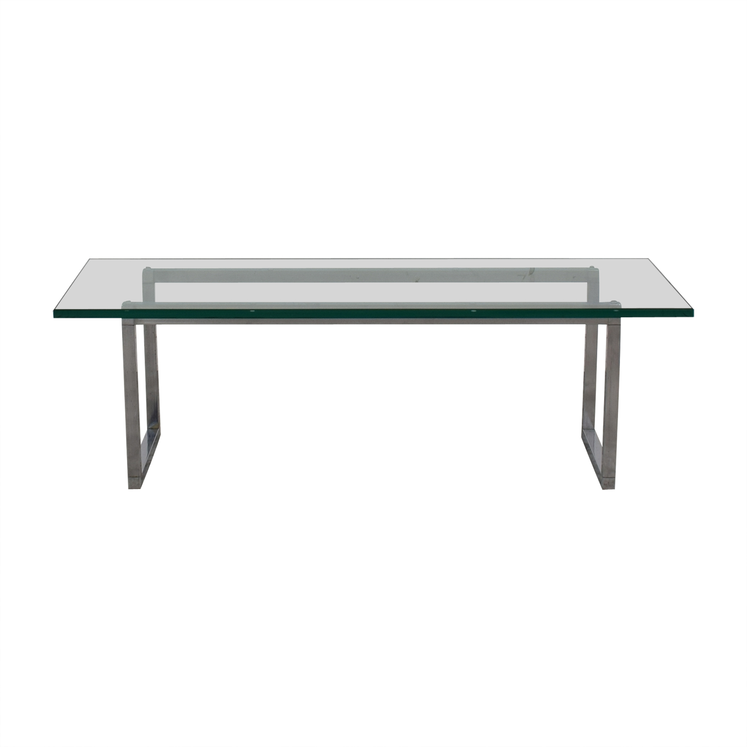buy Glass and Chrome Coffee Table