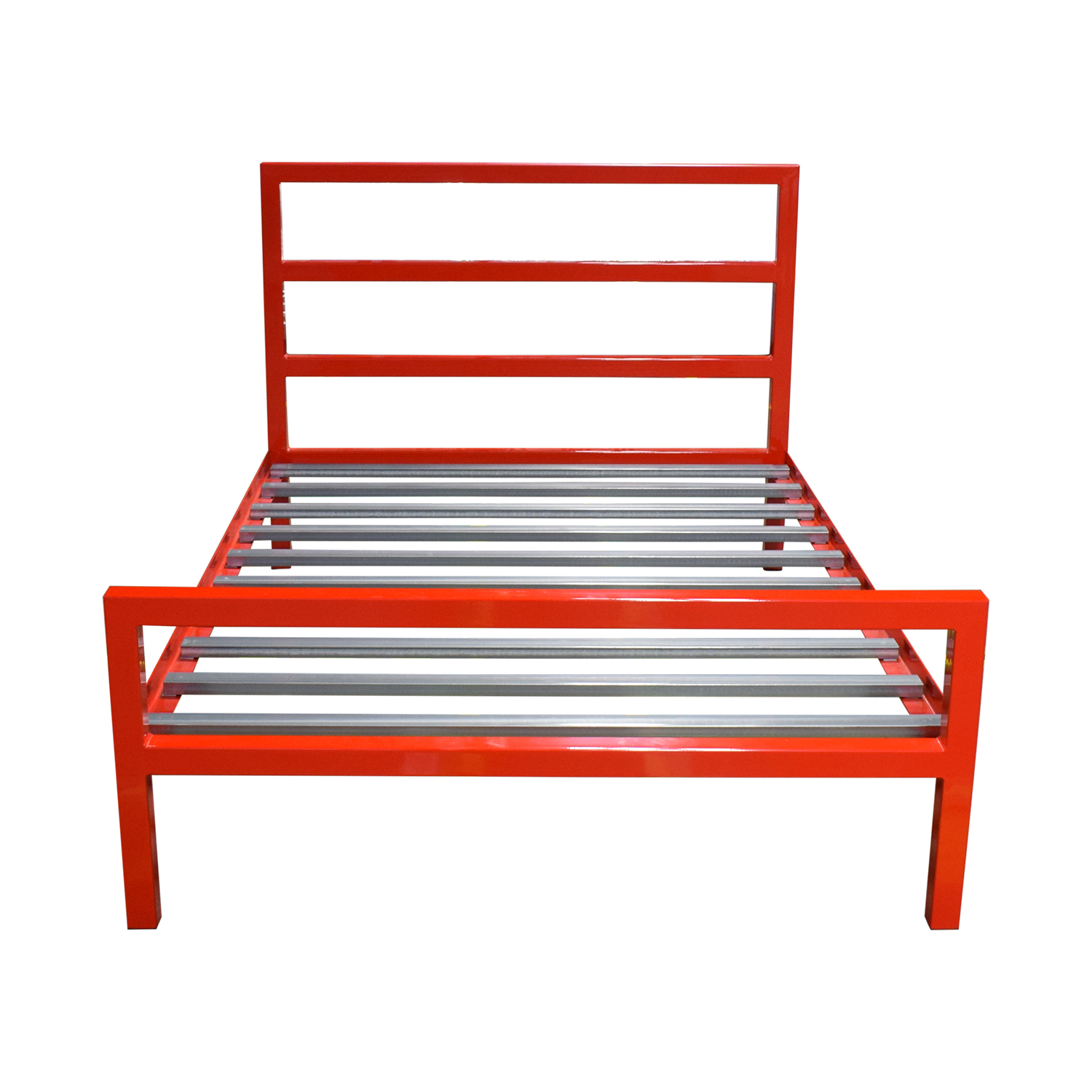 Room & Board Room & Board Parsons Red Full Bed Frame on sale