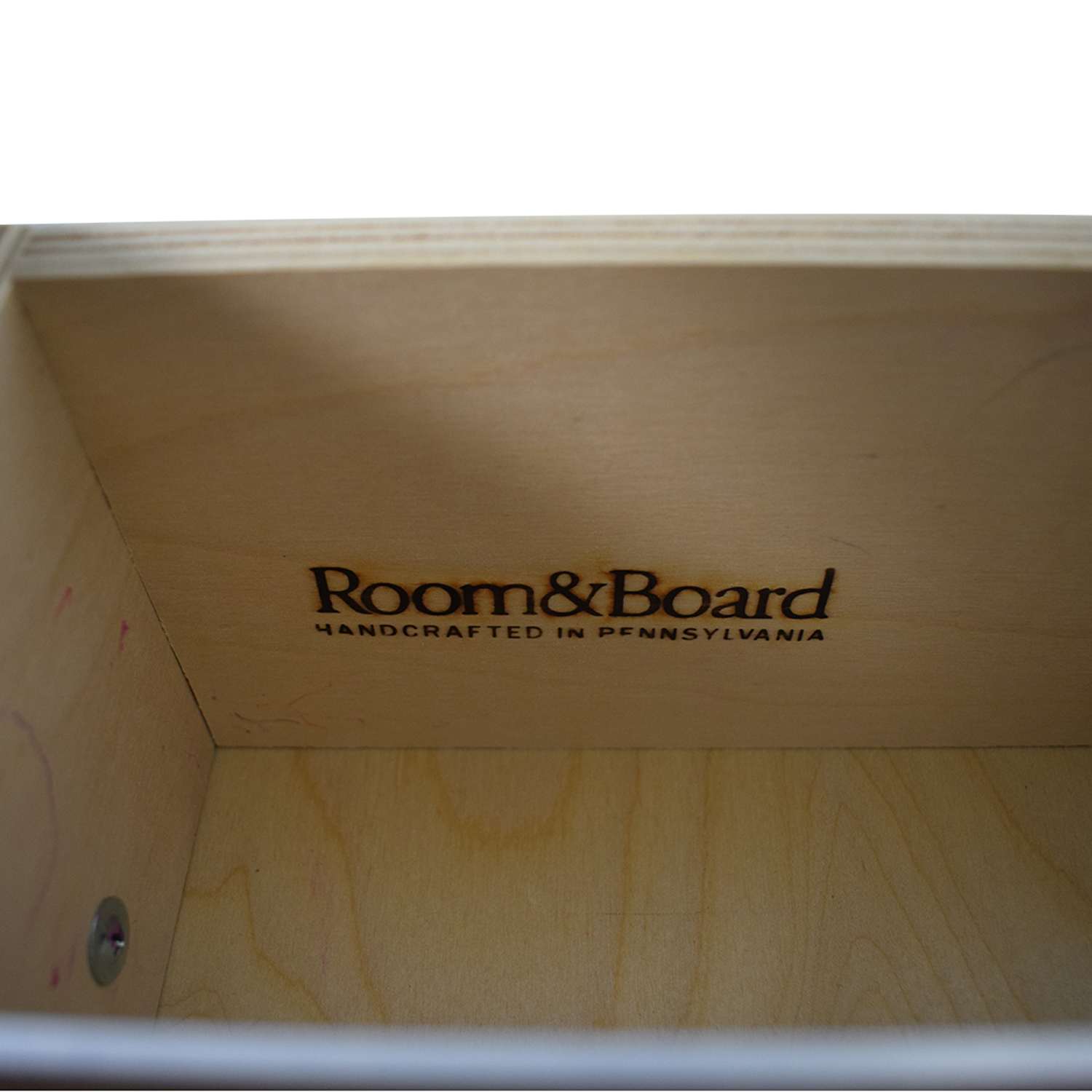 Room & Board Room & Board Woodwind Maple With Charcoal Stain Media Cabinet used