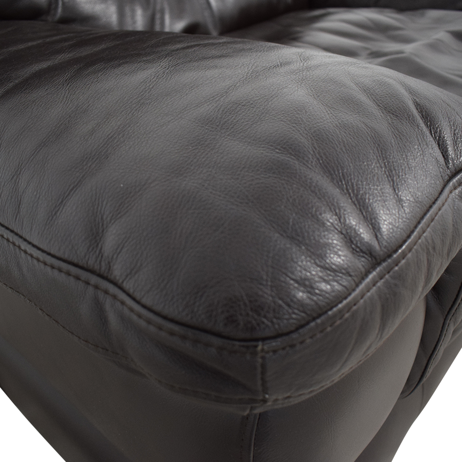 Bob's Discount Furniture Bob's Discount Furniture Brown Leather Accent Chair Chairs