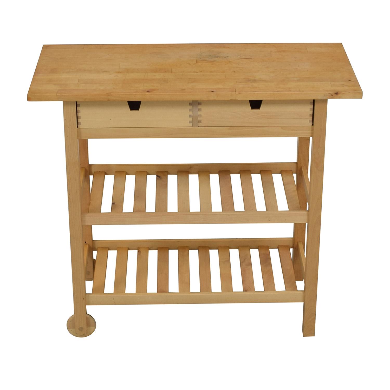 IKEA IKEA Förhöja Kitchen Cart nj
