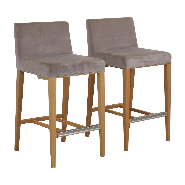 shop Bernhardt Velvet Barstools Bernhardt Chairs