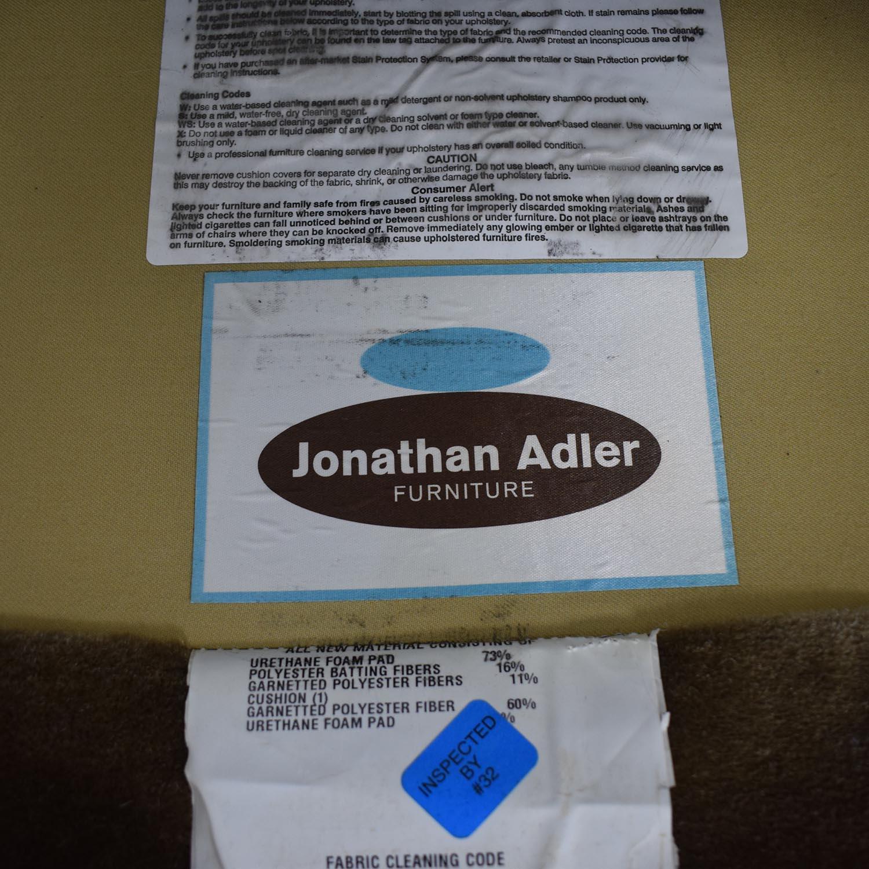 Jonathan Adler Mohair Chair / Accent Chairs