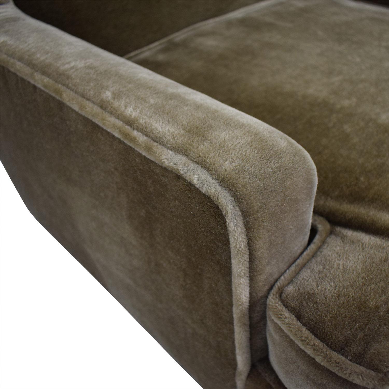 shop Jonathan Adler Jonathan Adler Mohair Chair online