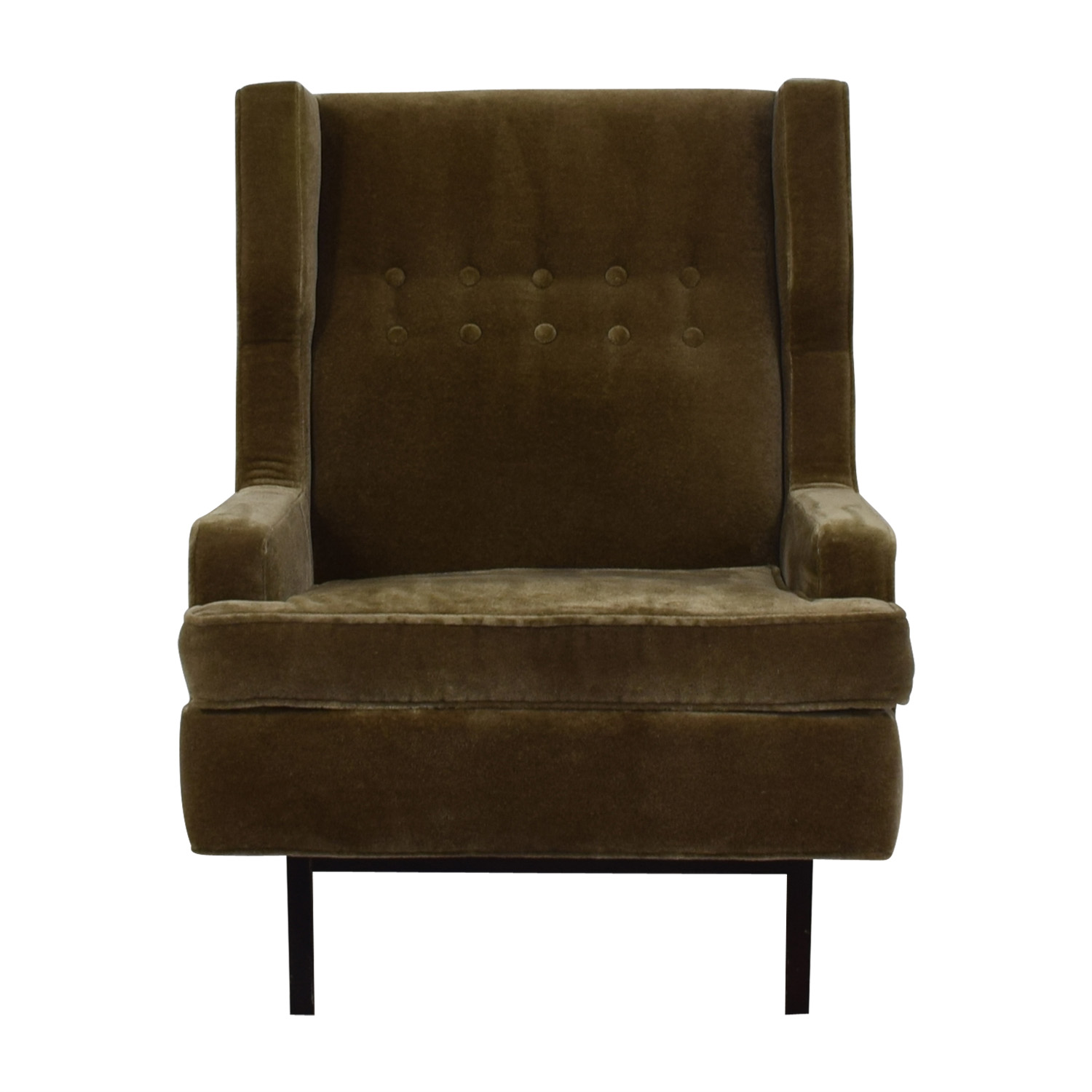 Jonathan Adler Jonathan Adler Mohair Chair Accent Chairs