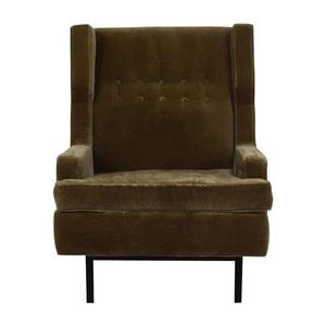 Jonathan Adler Jonathan Adler Mohair Chair nj