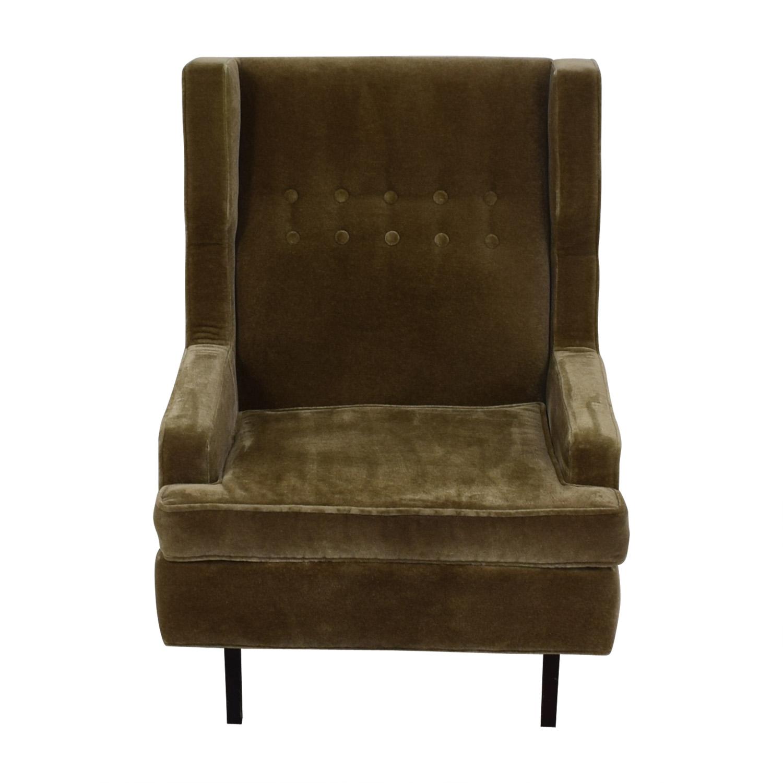 Jonathan Adler Jonathan Adler Mohair Chair nyc