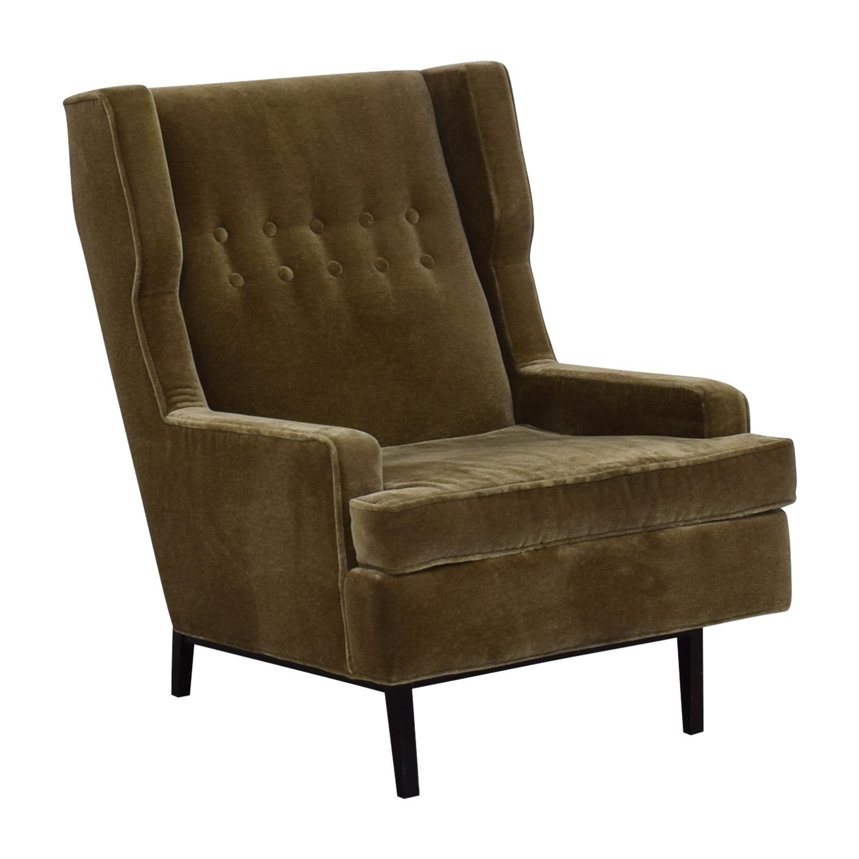 90 Off Jonathan Adler Jonathan Adler Mohair Chair Chairs