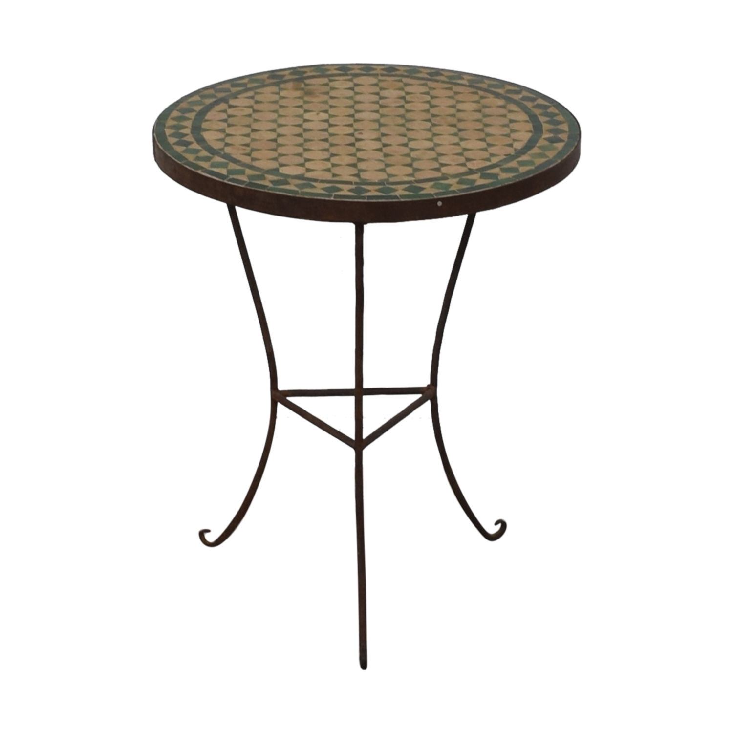 Moroccan Tile Table second hand