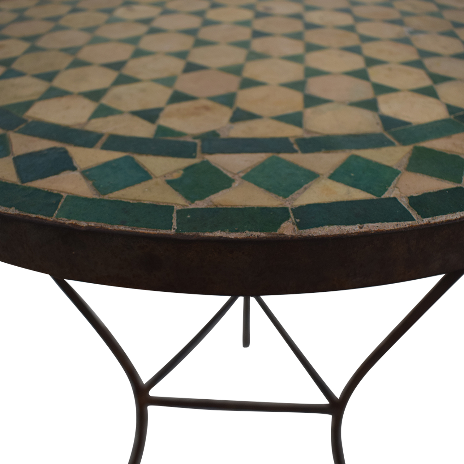 buy Moroccan Tile Table  Tables