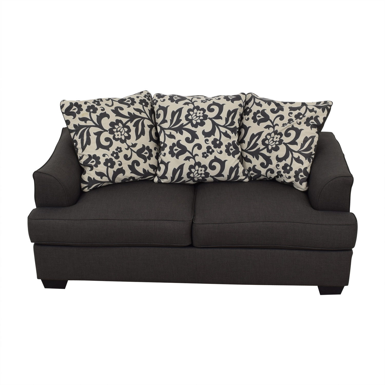 Ashley Furniture Ashley Furniture Dark Grey Sofa Classic Sofas