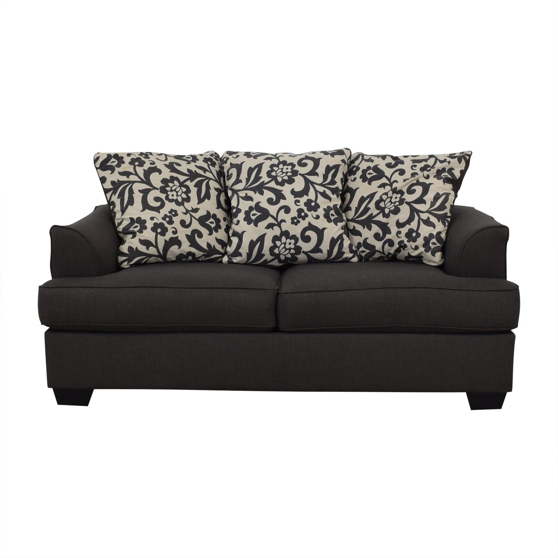 90 Off Ashley Furniture Ashley Furniture Dark Grey Sofa Sofas