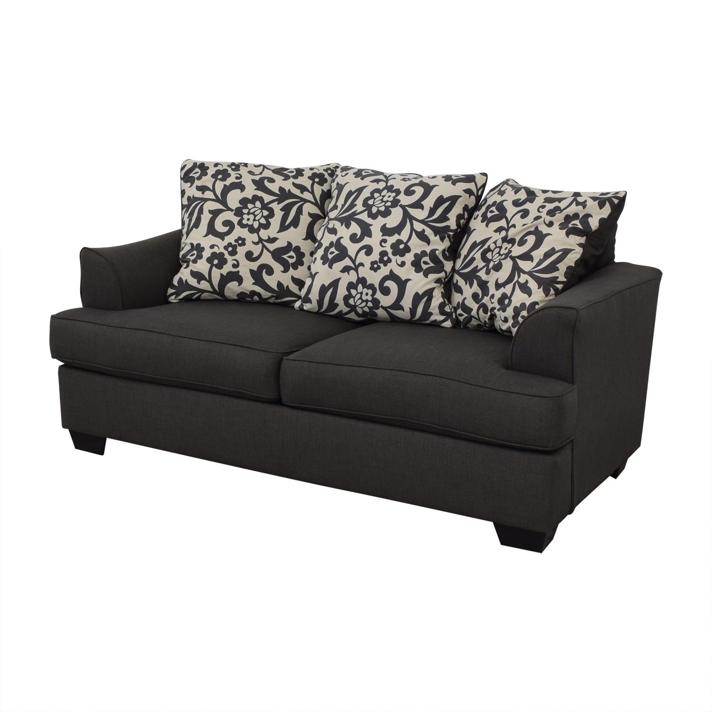 Ashley Furniture Ashley Furniture Dark Grey Sofa for sale