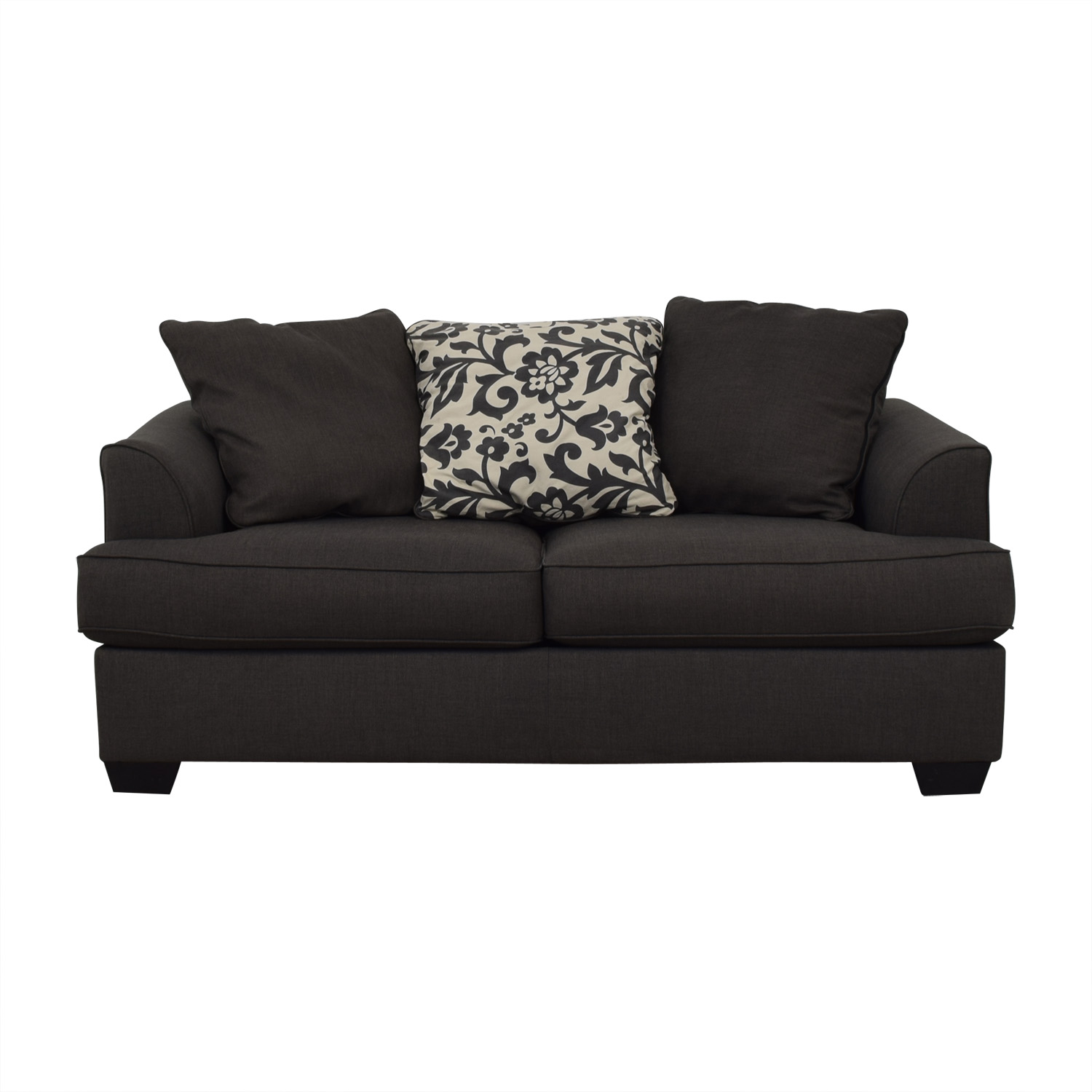 58 Off Ashley Furniture Ashley Furniture Dark Grey Sofa