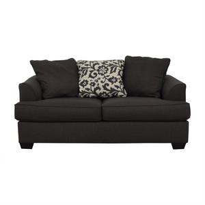 Ashley Furniture Ashley Furniture Dark Grey Sofa discount
