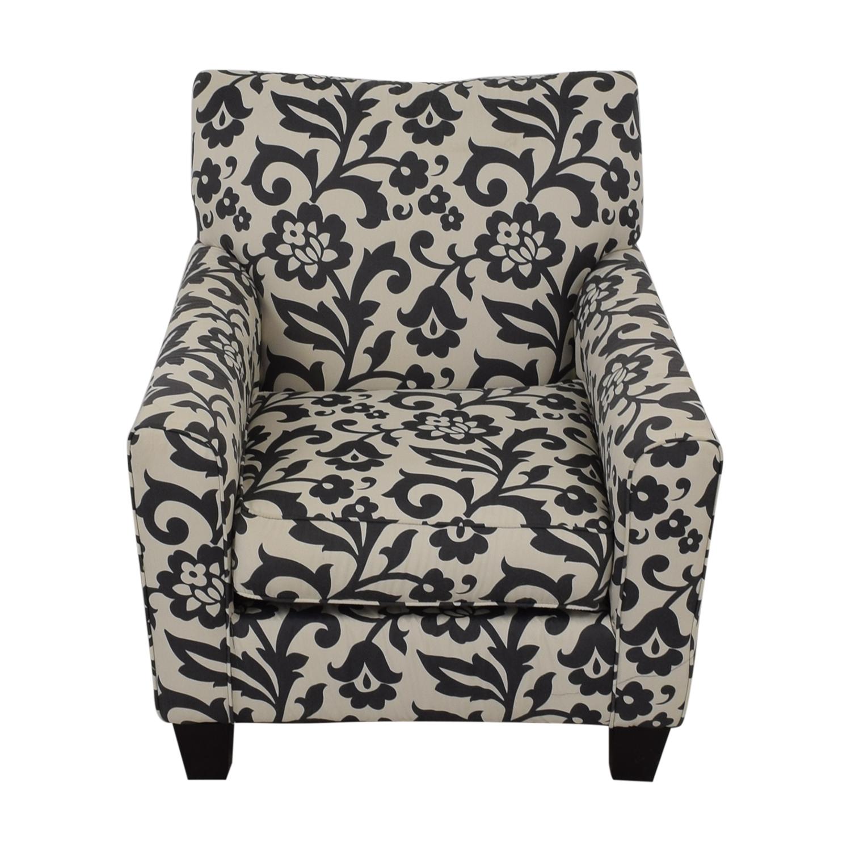 Ashley Furniture Ashley Furniture Floral Armchair dimensions