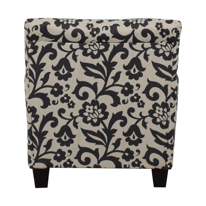 Ashley Furniture Ashley Furniture Floral Armchair  sc 1 st  Kaiyo & 88% OFF - Ashley Furniture Ashley Furniture Floral Armchair / Chairs