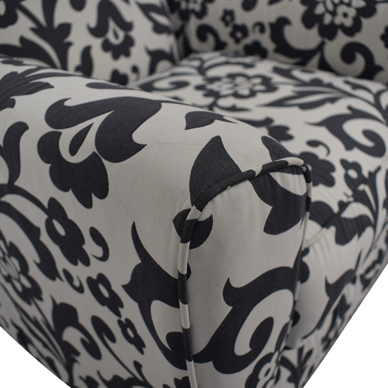 Ashley Furniture Ashley Furniture Floral Armchair discount