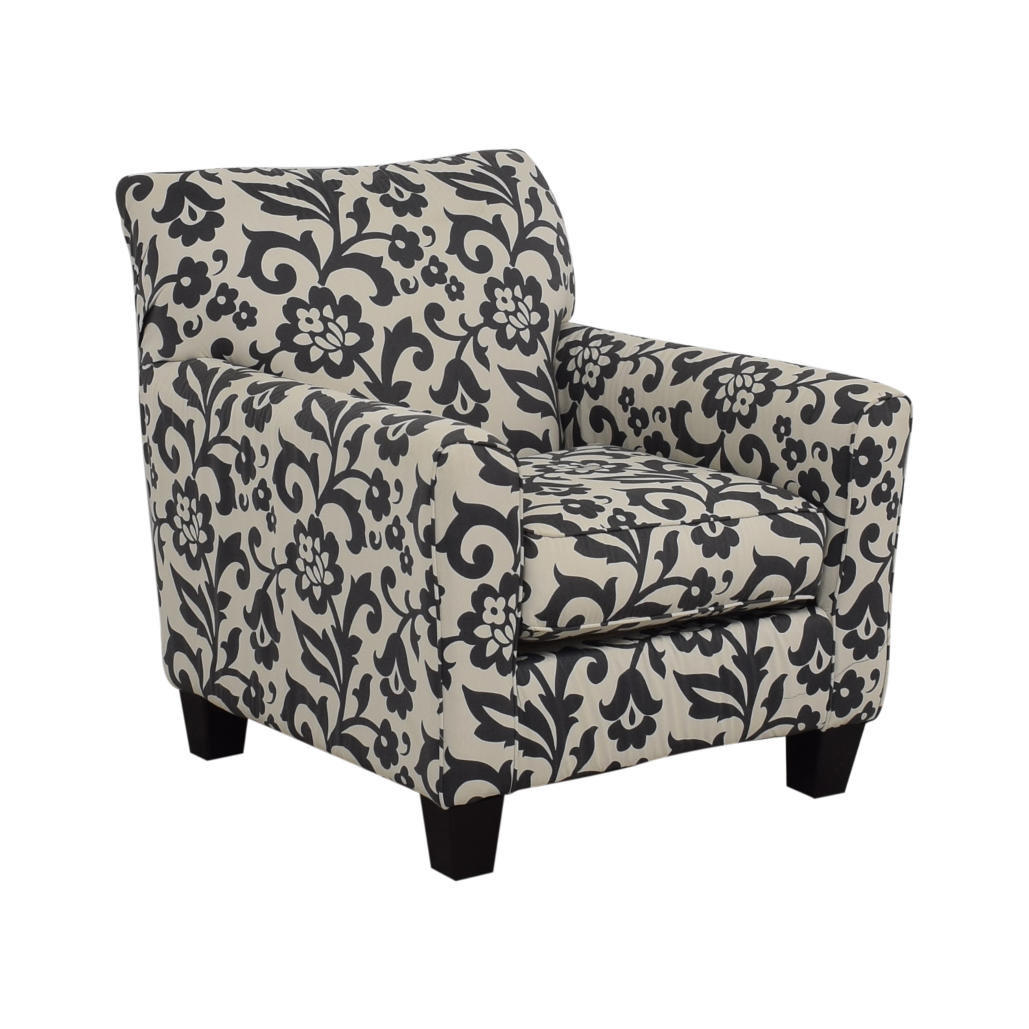 88 Off Ashley Furniture Ashley Furniture Floral Armchair Chairs