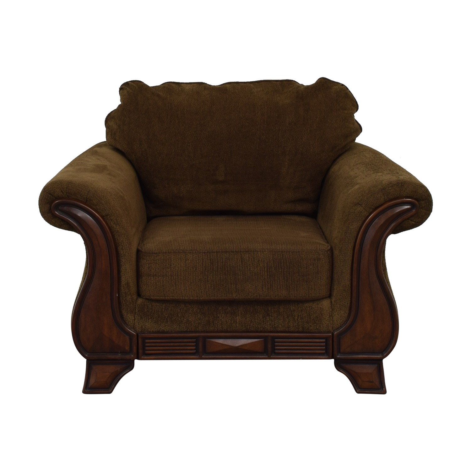 shop Jennifer Convertible Montgomery Brown Accent Chair Jennifer Convertible Accent Chairs