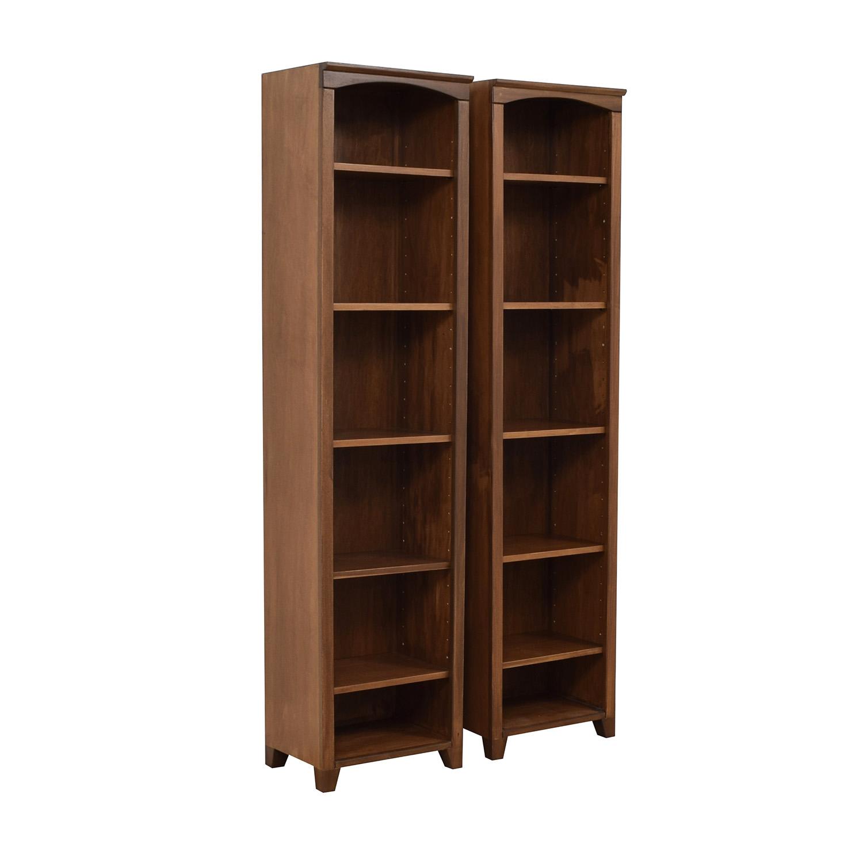 Custom Tall Six Shelf Bookcases price