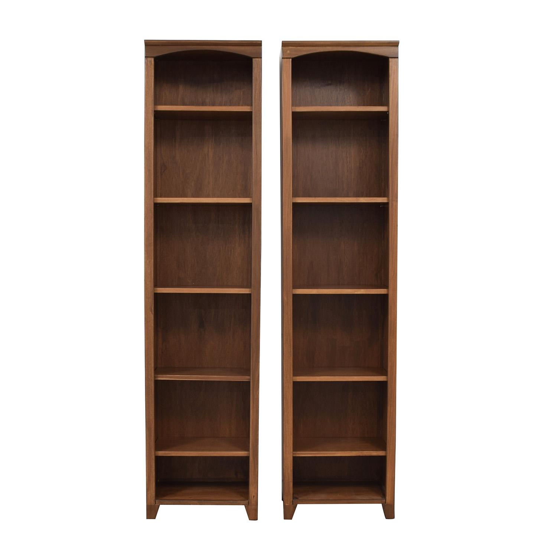 Custom Tall Six Shelf Bookcases / Storage