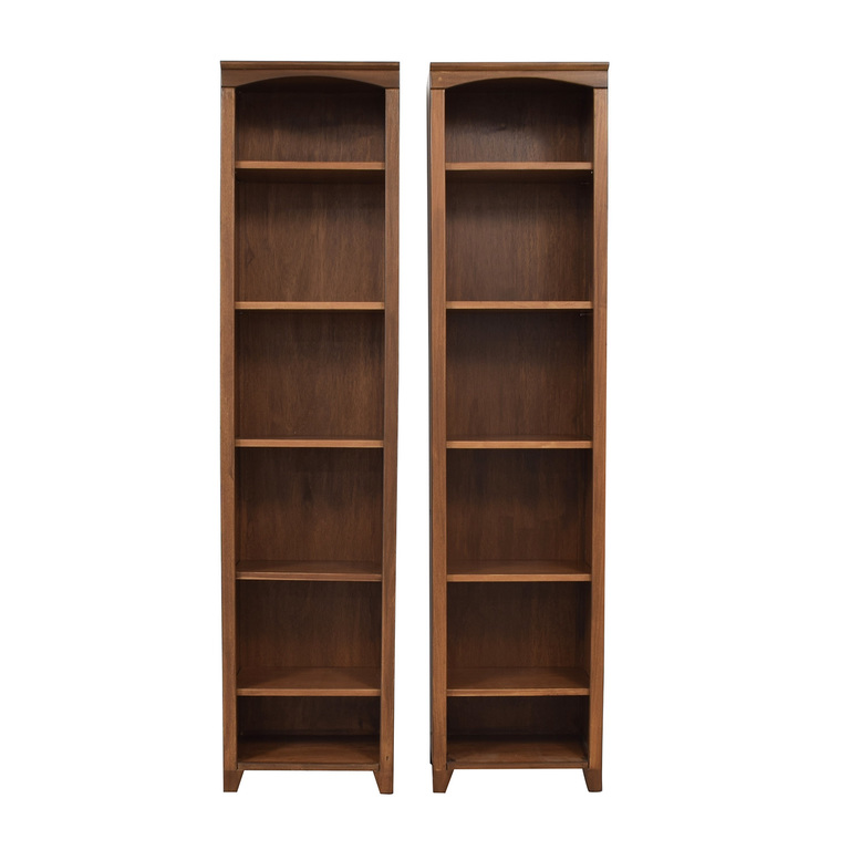 Custom Tall Six Shelf Bookcases
